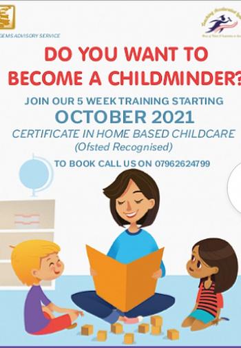 Childminder leaflet